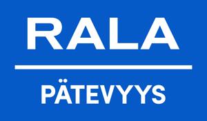 Rala pätevyys logo