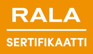 RALA sertifikaatti logo