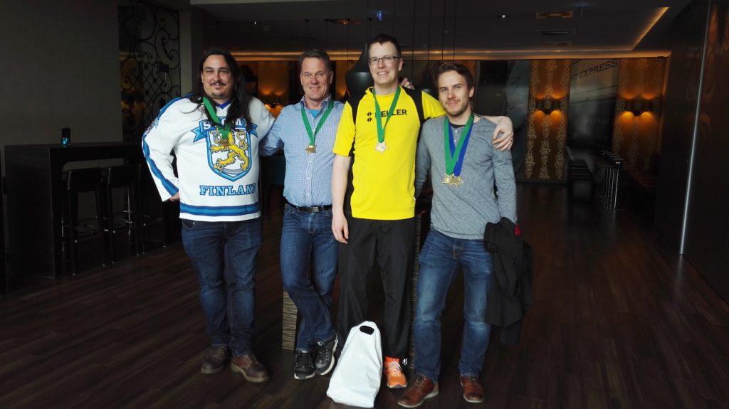 KFS osallistui Wienin maratoonille